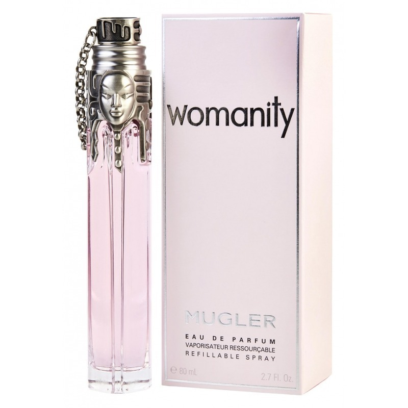 Thierry mugler womanity for Thierry mugler dis moi miroir