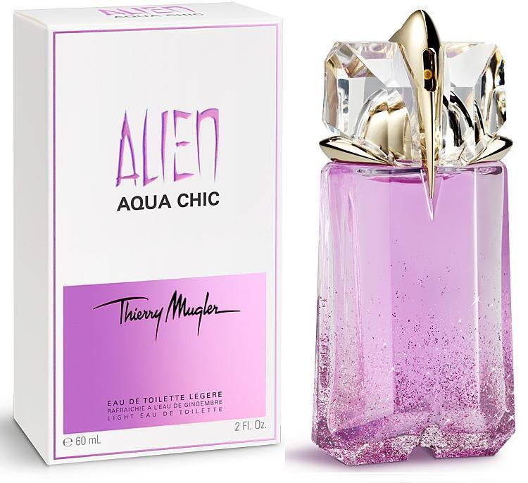 Thierry mugler alien aqua chic for Thierry mugler miroir des vanites
