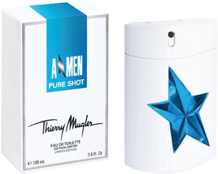 Thierry mugler a men pure shot for Thierry mugler dis moi miroir