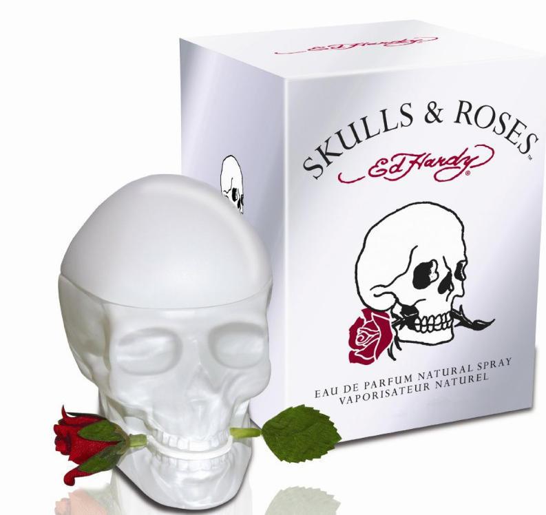 Купить Ed Hardy Skulls & Roses на Духи.рф