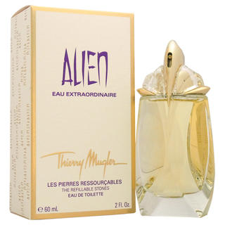 Thierry mugler alien eau extraordinaire the refillable for Thierry mugler dis moi miroir