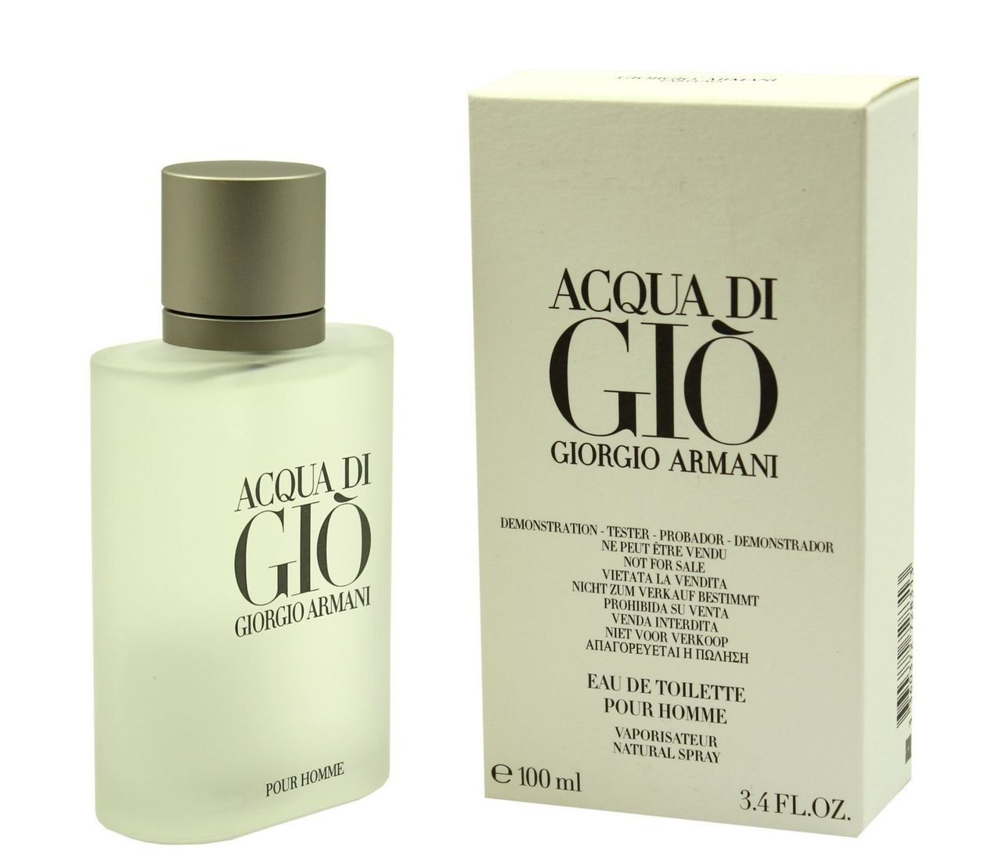 Тестер мужской туалетной воды Giorgio Armani Acqua Di Gio