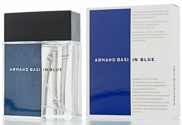 In Blue Armand Basi