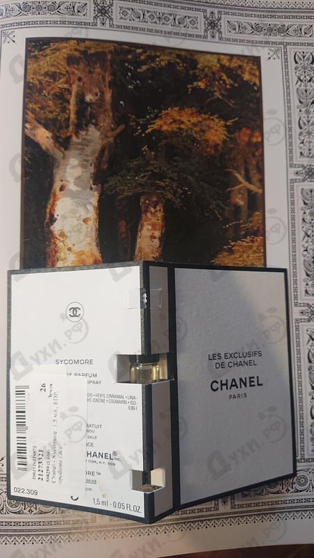 Отзыв Chanel Sycomore
