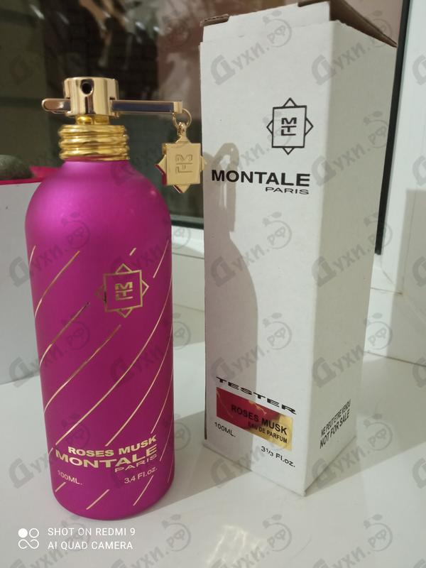 Духи Roses Musk от Montale