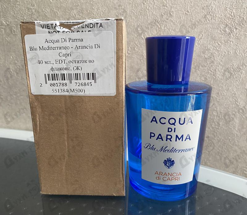 Купить Blu Mediterraneo - Arancia Di Capri от Acqua Di Parma