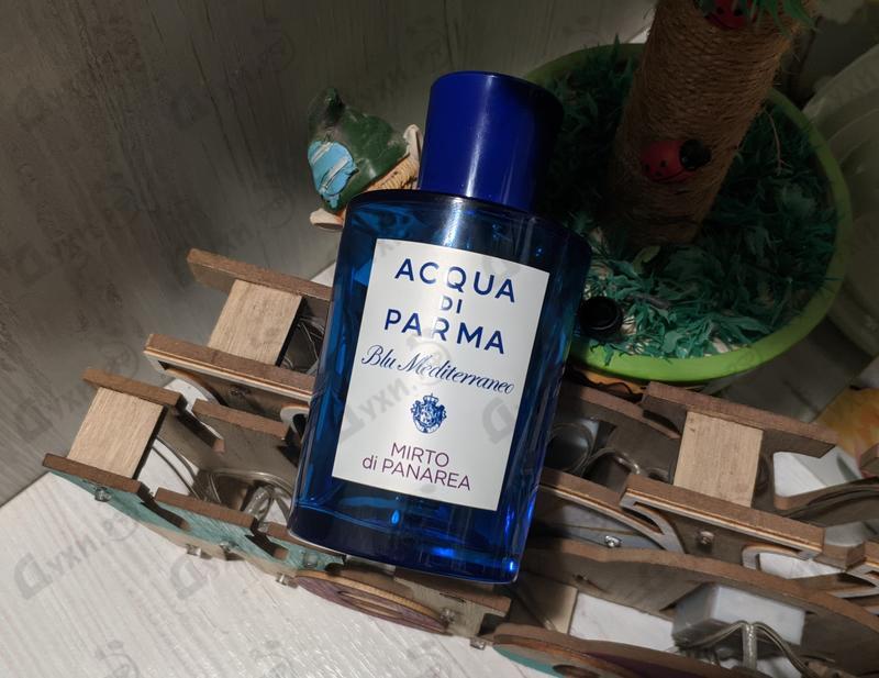 Отзыв Acqua Di Parma Blu Mediterraneo Mirto Di Panarea