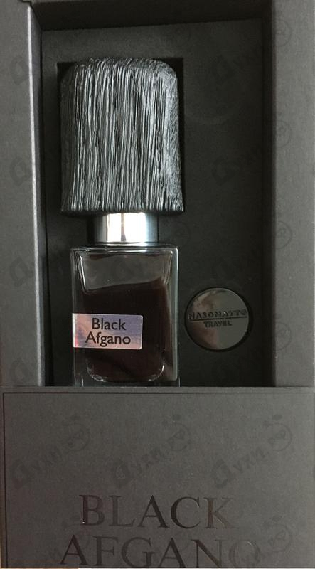Парфюмерия Black Afgano от Nasomatto