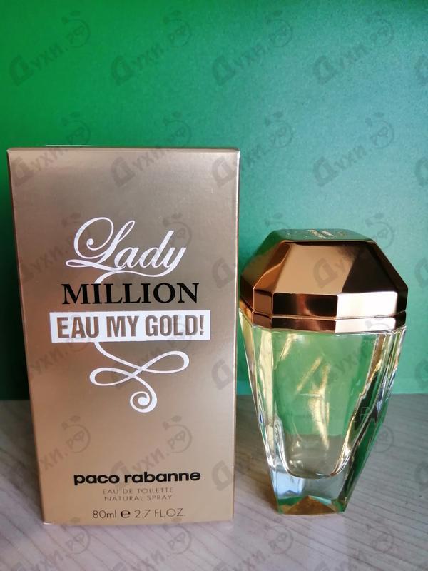 Парфюмерия Paco Rabanne Lady Million Eau My Gold!