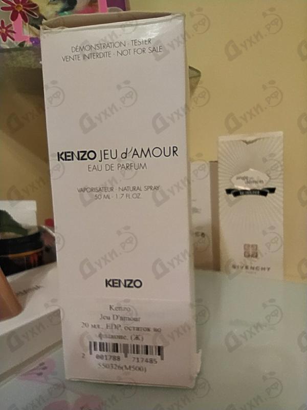 Отзыв Kenzo Jeu D'amour