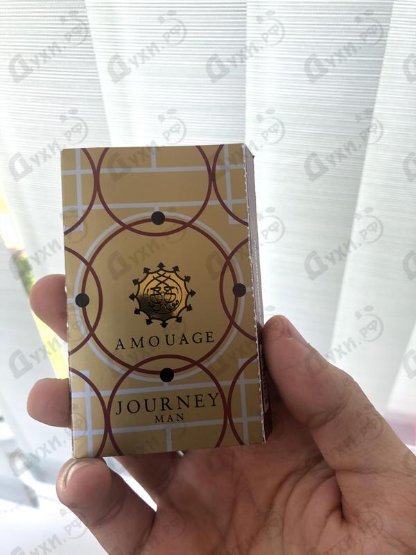 Отзывы Amouage Journey