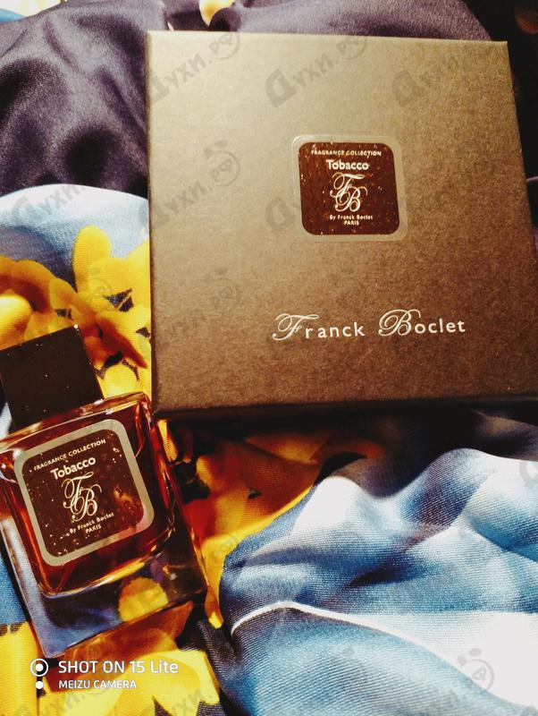 Парфюмерия Tobacco от Franck Boclet