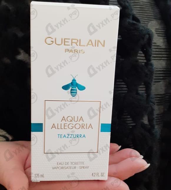 Духи Aqua Allegoria Teazzurra от Guerlain