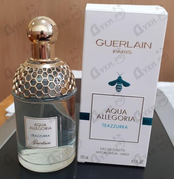 Парфюмерия Aqua Allegoria Teazzurra от Guerlain