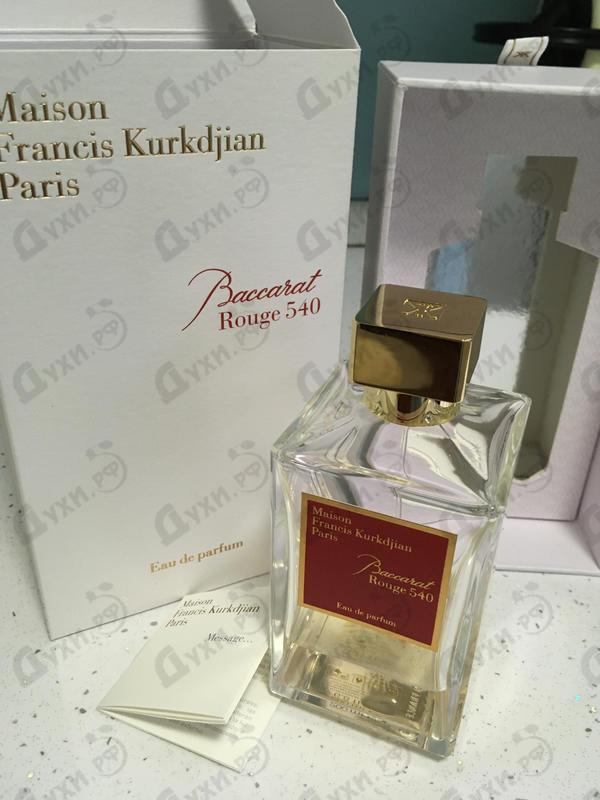 Отзыв Maison Francis Kurkdjian Baccarat Rouge 540