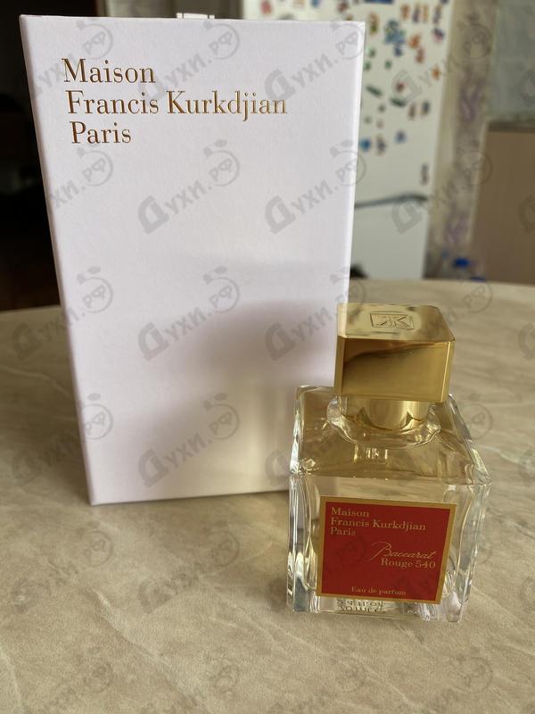 Парфюмерия Baccarat Rouge 540 от Maison Francis Kurkdjian