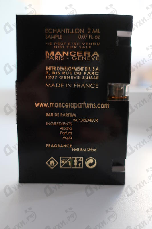 Отзывы Mancera Choco Violette