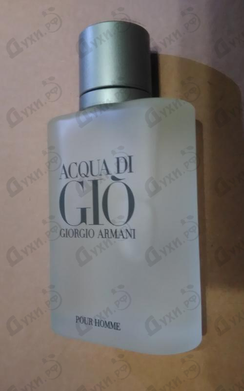Отзыв Giorgio Armani Acqua Di Gio