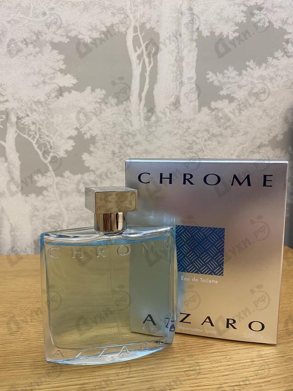Парфюмерия Chrome от Azzaro