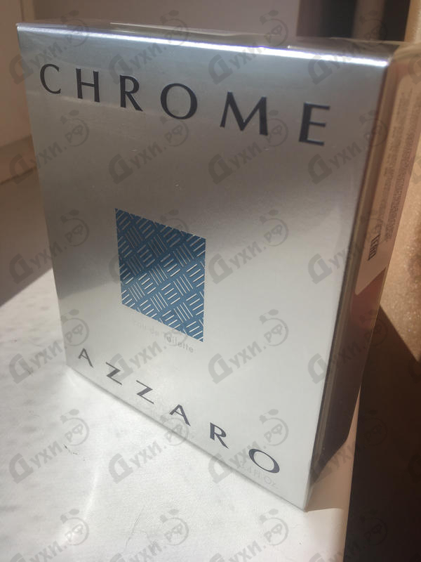 Парфюмерия Azzaro Chrome