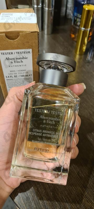 Парфюмерия Authentic Man от Abercrombie & Fitch