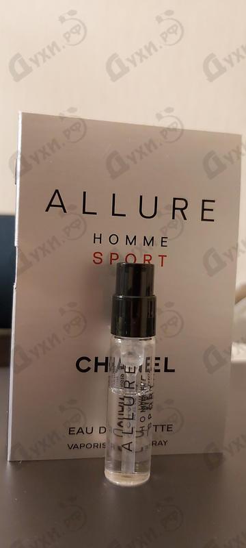 Парфюмерия Allure Homme Sport от Chanel