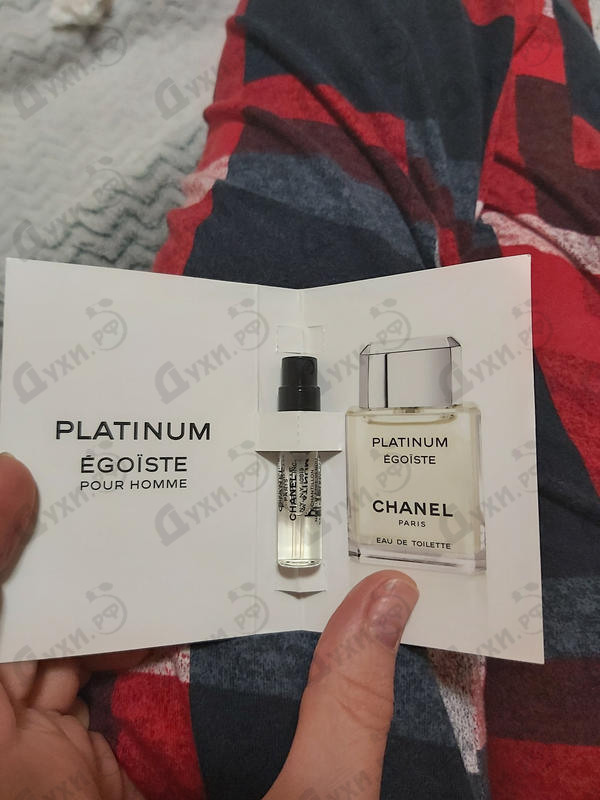 Отзыв Chanel Egoiste Platinum