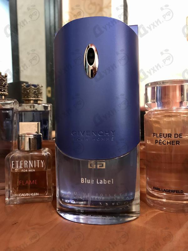 Парфюмерия Blue Label от Givenchy