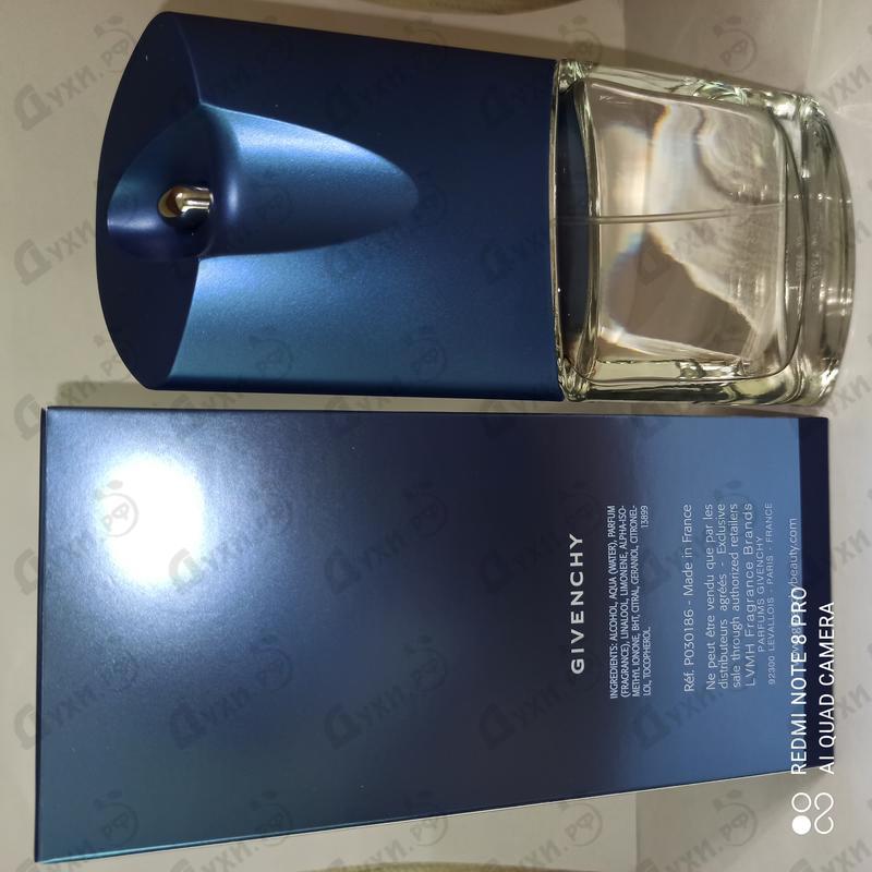 Духи Blue Label от Givenchy
