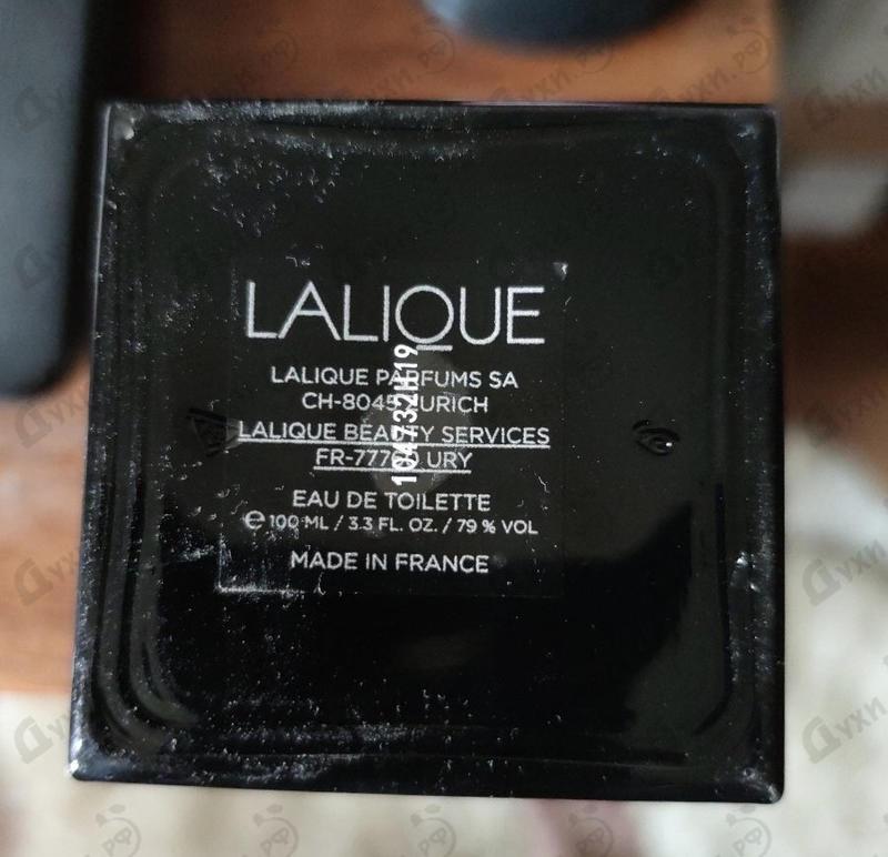 Купить Lalique Encre Noire