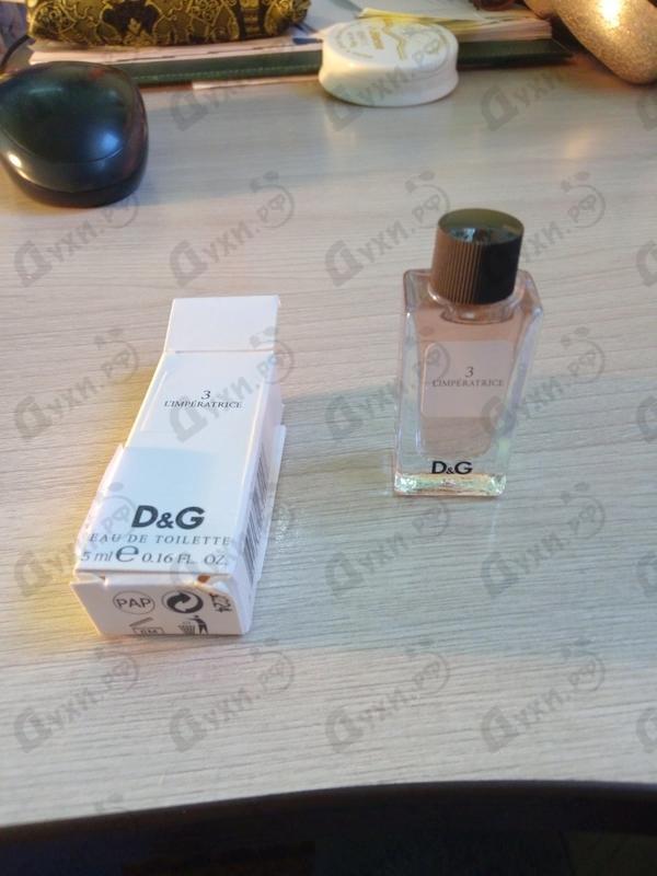 Отзыв Dolce & Gabbana 3 L'imperatrice