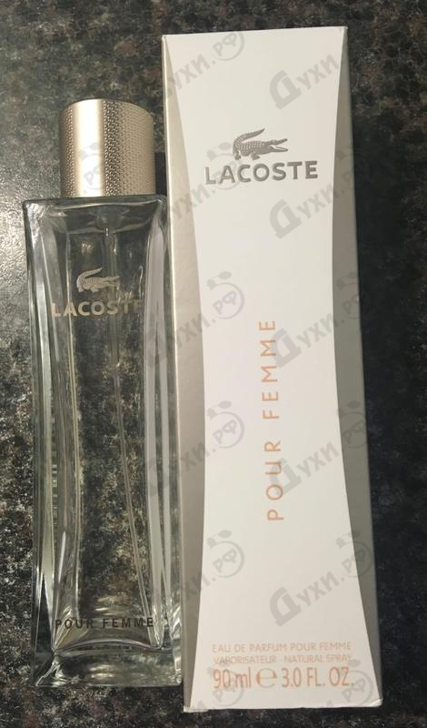 Парфюмерия Pour Femme от Lacoste