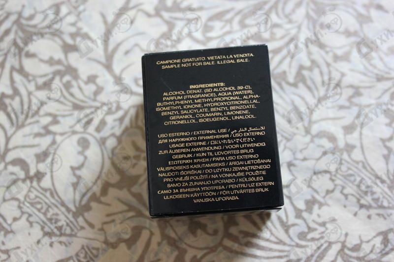 Отзыв Versace Crystal Noir