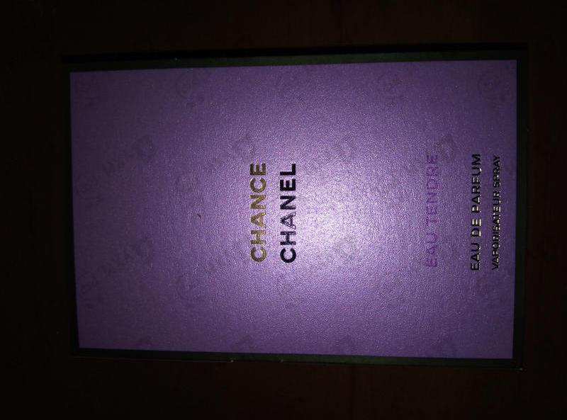 Духи Chance Eau Tendre от Chanel